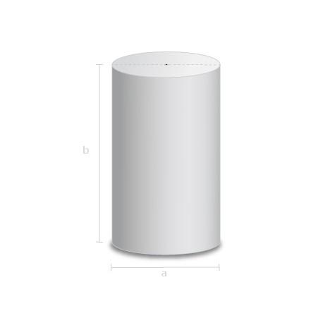 Goma espuma forma cilindrica 20cm Diametro.