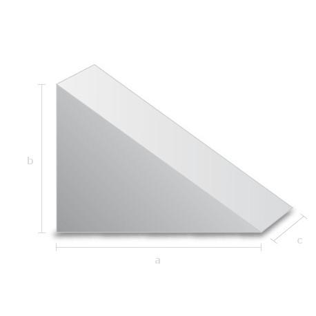 Goma espuma forma Triangulo